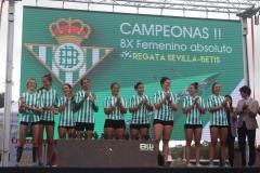 aFemenino regata Sevilla - Betis0
