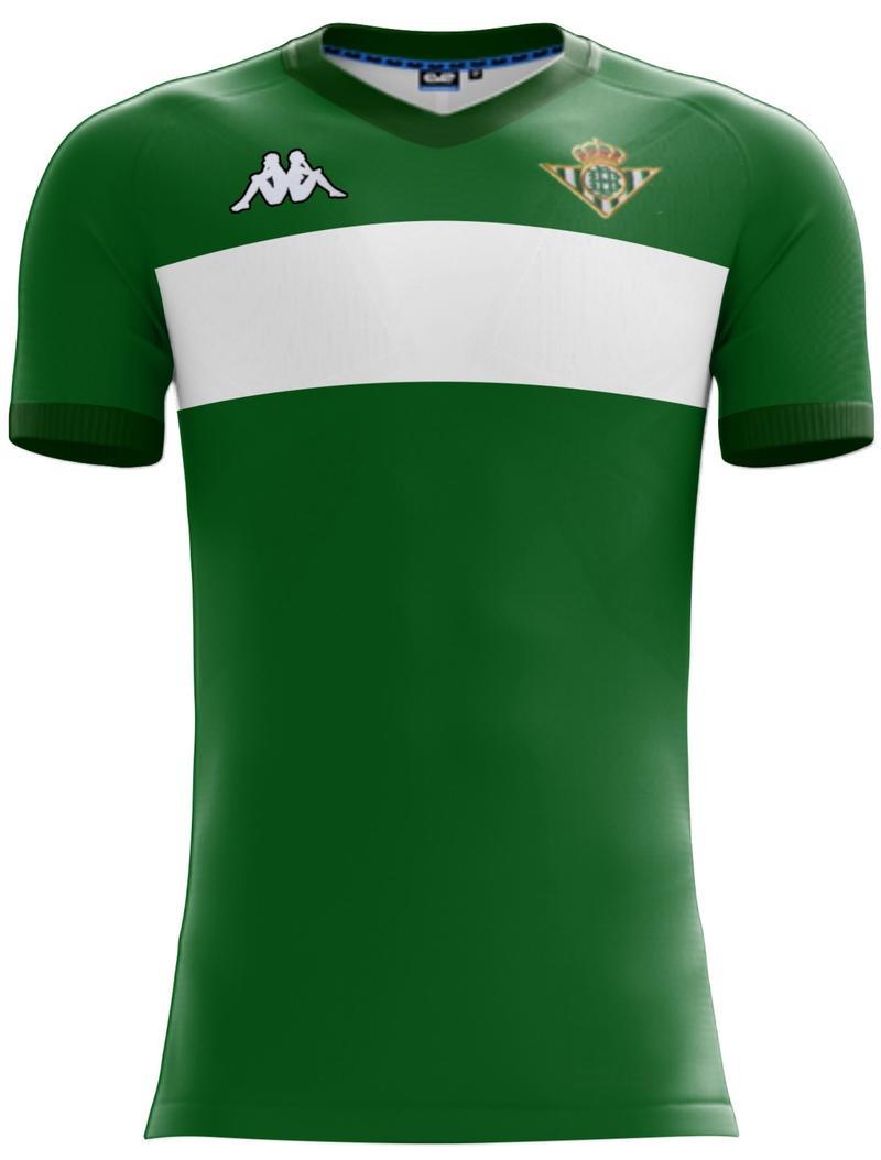 d2cb97b1bf7ed El Betis jugará la semifinal con una camiseta Kappa exclusiva por el ...