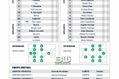 1:16 Alineaciones Real Betis - Real Racing