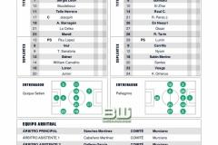 J7 Alineaciones Real Betis - Leganes