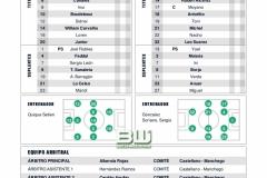 J9 Alineaciones Real Betis - Valladolid
