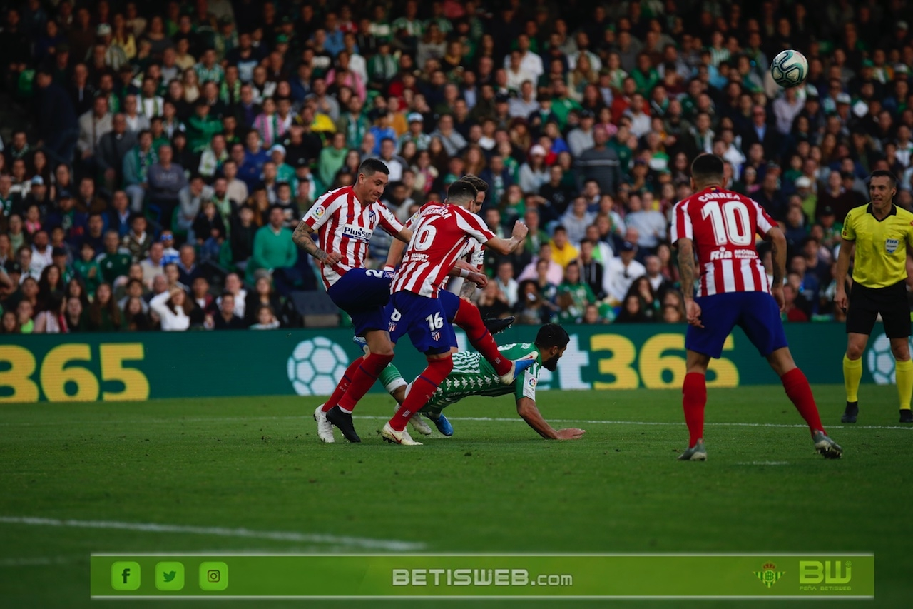 J18 - Real Betis - Atco Madrid  10