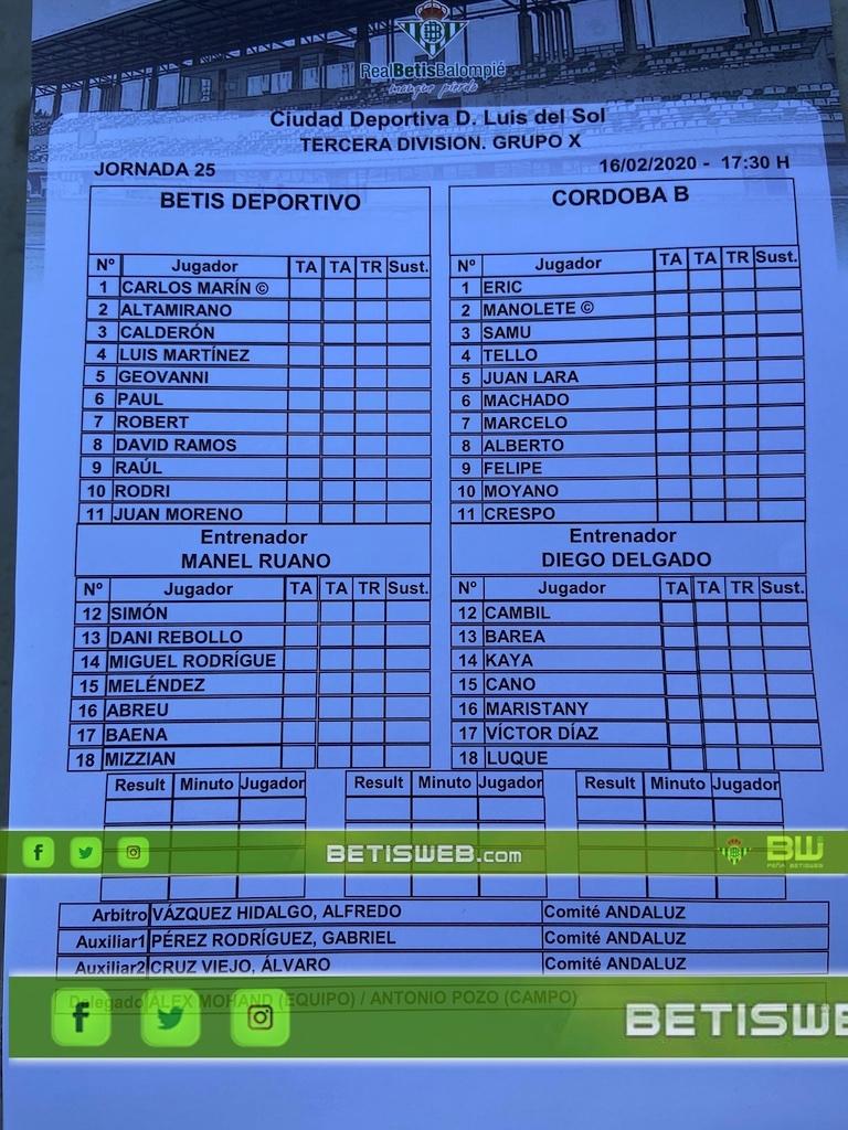 zJ25 Betis Deportivo - Cordoba 0