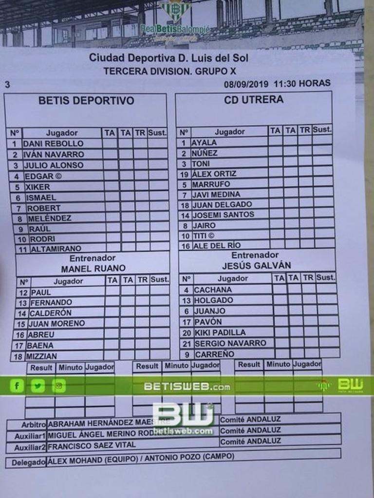 ZJ3 Betis deportivo - Utrera 0