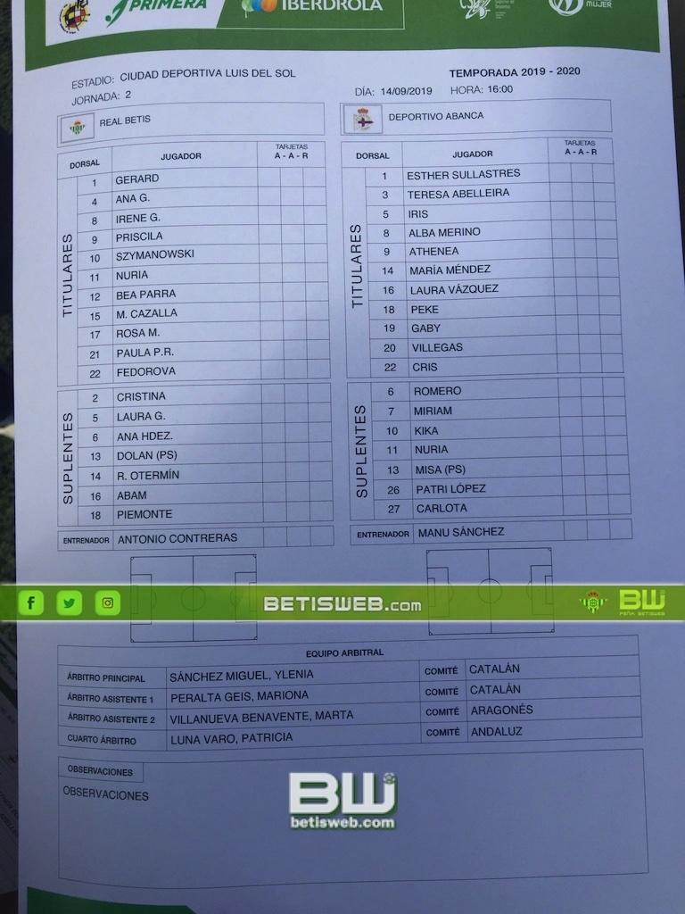 zJ2 Betis Feminas - Depor 0