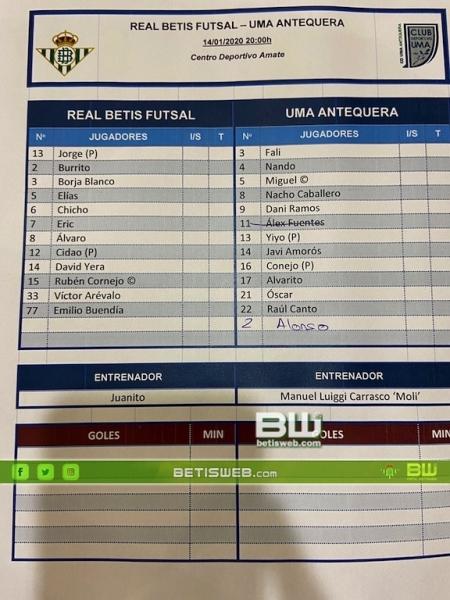 z1-8 Betis FS - UMA Antequera 0