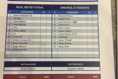 zJ19 Betis futsal - Tenerife 0