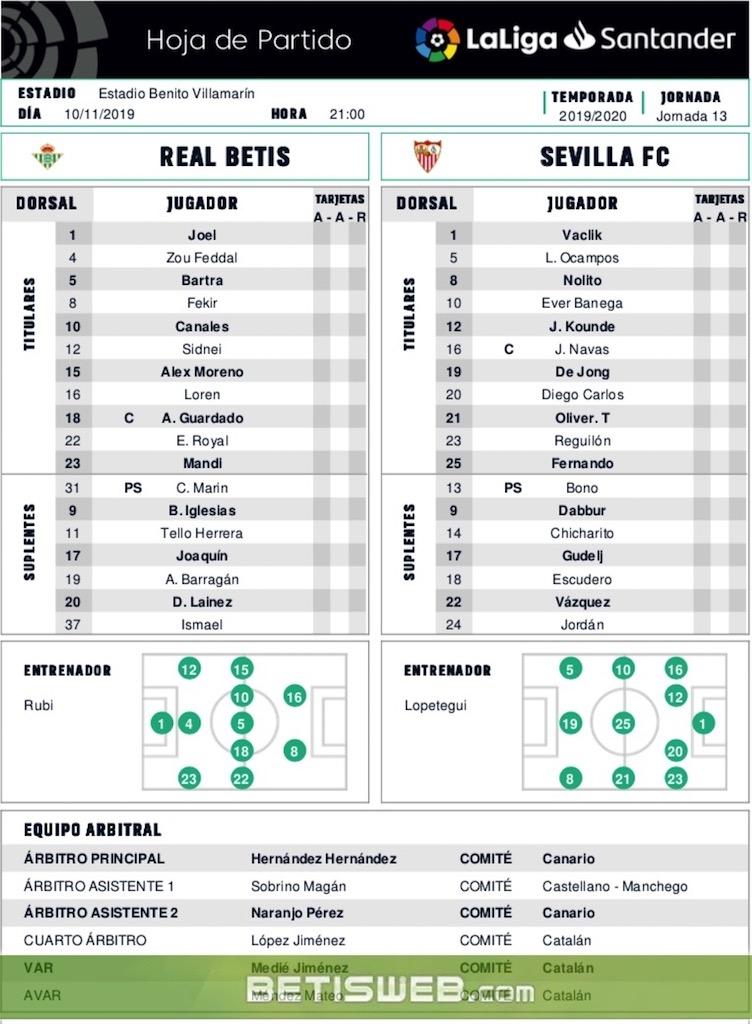 zJ13 Betis - Sevilla 0