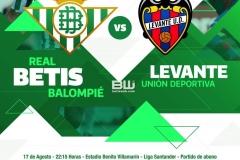 J1 Betis - Levante