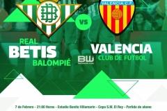 Semis copa Betis - Valencia