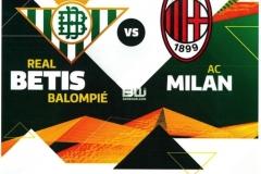UEFA Betis - Milan