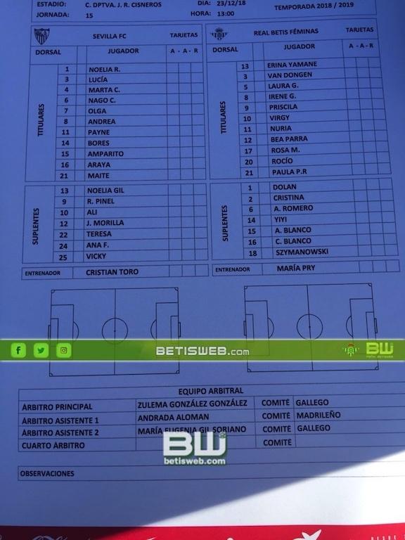 zJ15 – Sevilla Fc Fem - Real Betis Fem 0