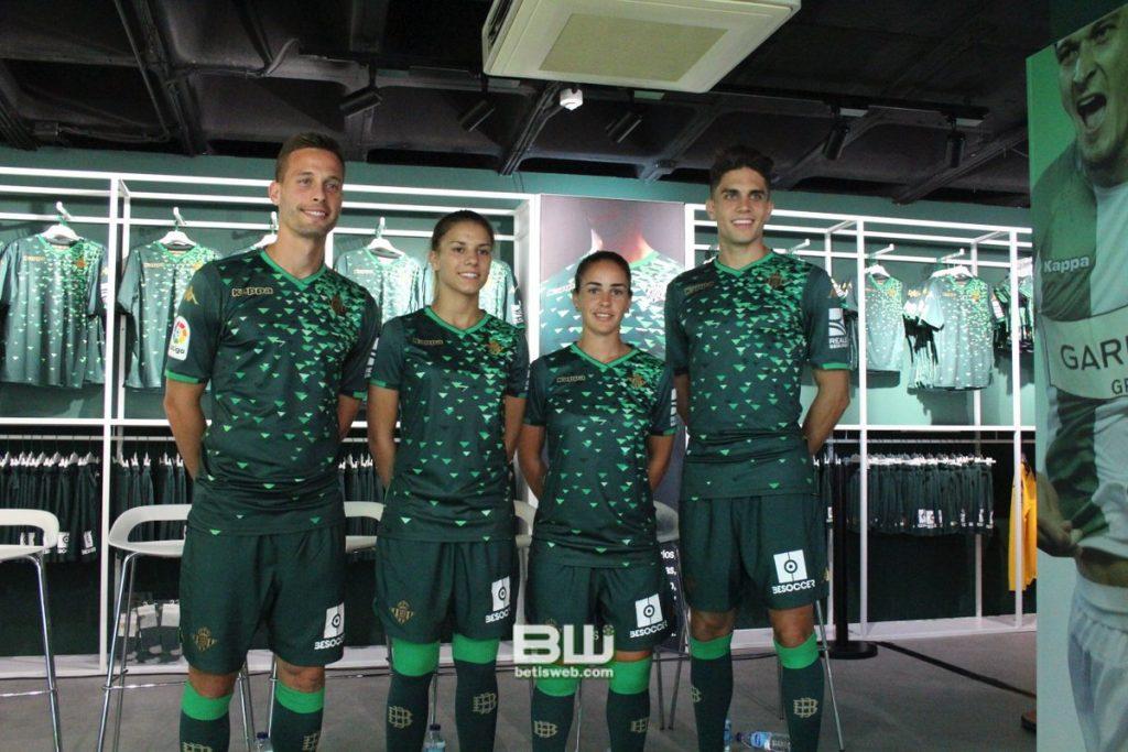 Acto presentación segunda equipación del Real Betis | Betisweb